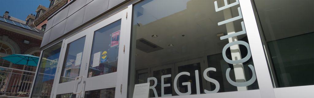 Regis College - Admissions Process